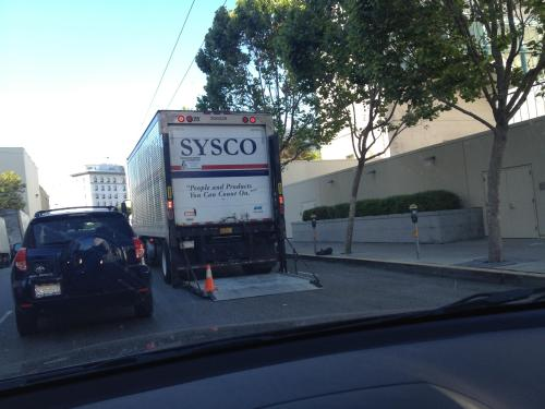 Sysco Delivery Truck